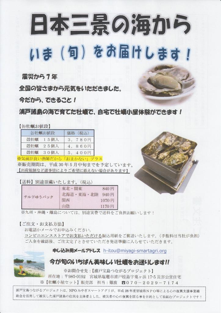 牡蠣小屋セットチラシ (724x1024)